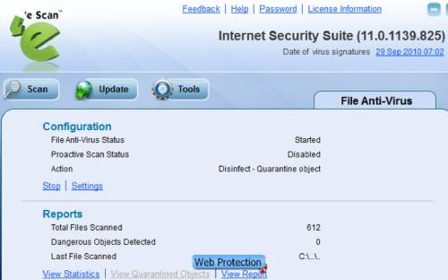 Download Escan Antivirus