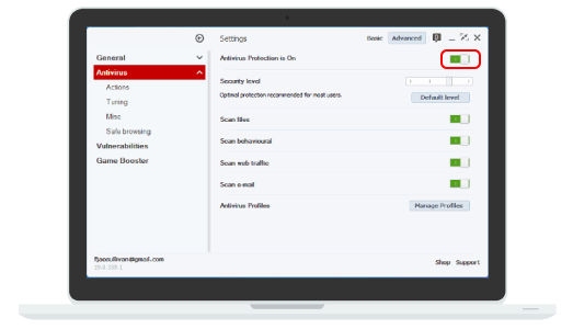 How To Disable Bullguard Antivirus